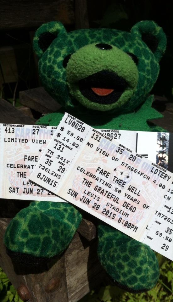 Fare Thee Well Tickets